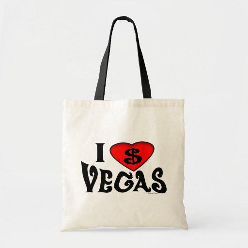 Amo el bolso de Vegas Bolsa De Mano