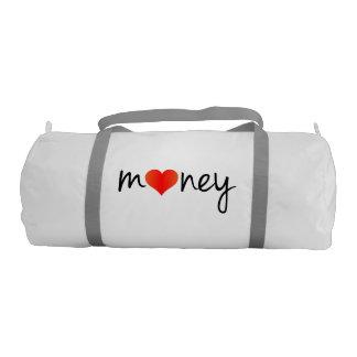 Amo el bolso loco del dinero y divertido fresco bolsa de deporte