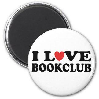 Amo el Bookclub Imán Para Frigorífico
