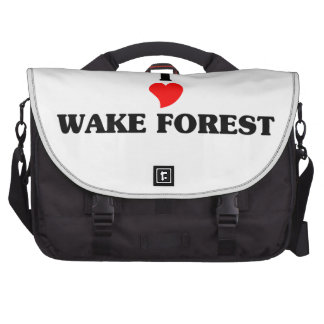 Amo el bosque de la estela bolsas de portátil