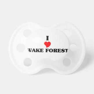 Amo el bosque de la estela chupetes de bebé