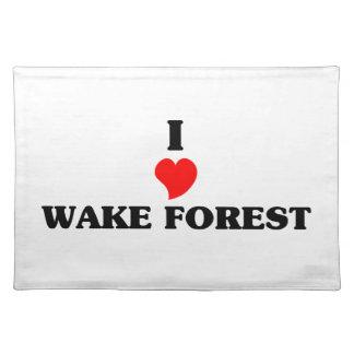 Amo el bosque de la estela mantel