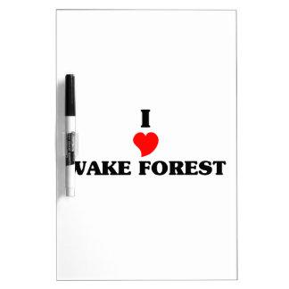 Amo el bosque de la estela pizarras blancas