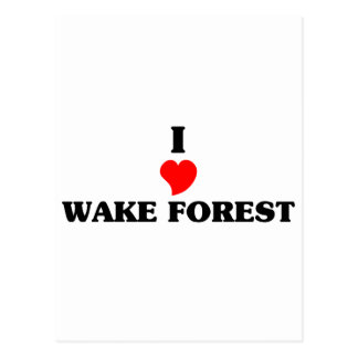 Amo el bosque de la estela postales
