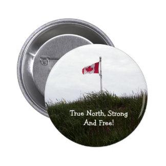 Amo el botón de Canadá