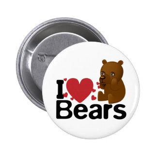 Amo el botón de los osos