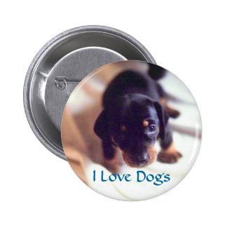 Amo el botón de los perros