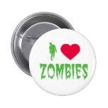 AMO el botón de los ZOMBIS Pin