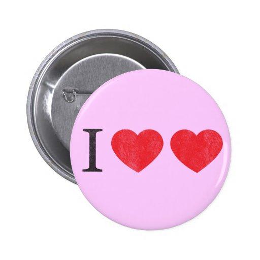 Amo el botón del amor pins