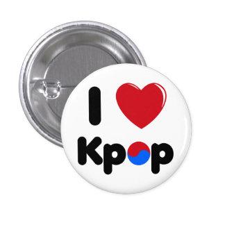 Amo el botón del kpop pins