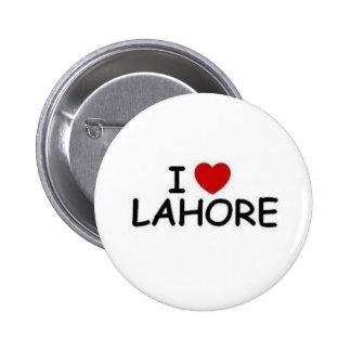 AMO el botón LAHORE#2 Pin Redondo De 2 Pulgadas
