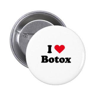 Amo el botox pin redondo 5 cm