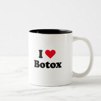 Amo el botox taza dos tonos