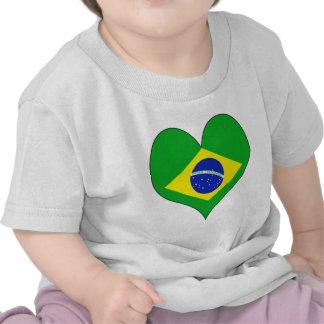 Amo el Brasil Camisetas