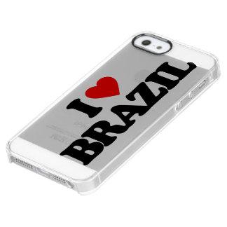 AMO EL BRASIL FUNDA CLEARLY™ DEFLECTOR PARA iPhone 5 DE UNCOMMON