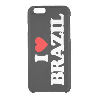 AMO EL BRASIL FUNDA CLEARLY™ DEFLECTOR PARA iPhone 6 DE UNCOMMON