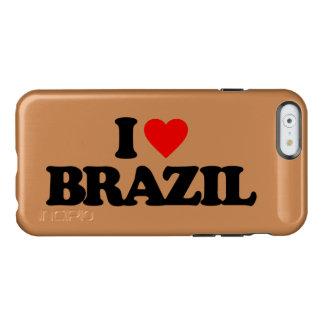 AMO EL BRASIL FUNDA PARA iPhone 6 PLUS INCIPIO FEATHER SHINE