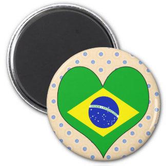 Amo el Brasil Iman De Frigorífico