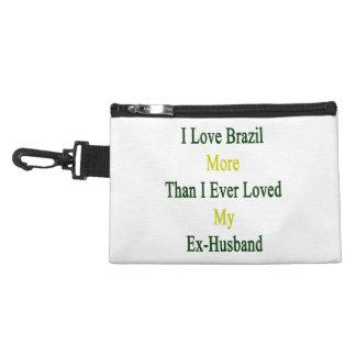 Amo el Brasil más que amé nunca a mi ex marido