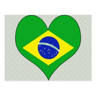 Amo el Brasil Postales
