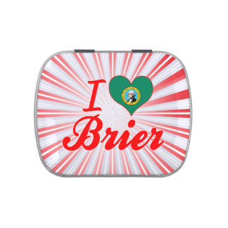 Amo el Brier, Washington Jarrones De Caramelos