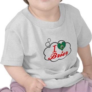 Amo el Brier, Washington Camiseta