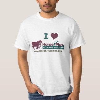 Amo el caballo más la sociedad humana - para playera