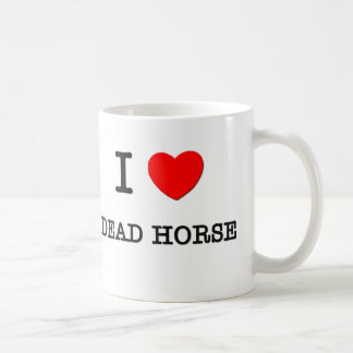 Amo el caballo muerto Massachusetts Taza De Café