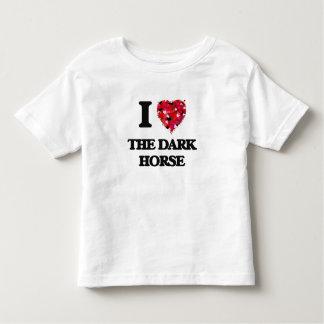 Amo el caballo oscuro playeras