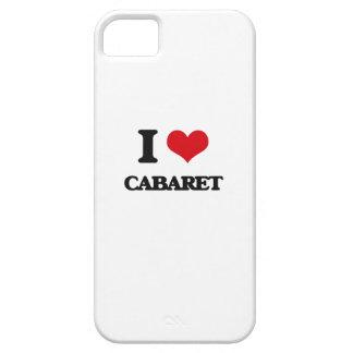 Amo el cabaret iPhone 5 Case-Mate coberturas