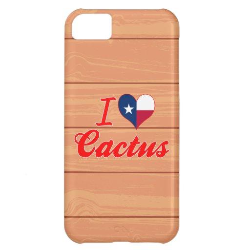 Amo el cactus, Tejas Funda Para iPhone 5C