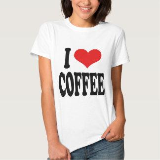 Amo el café camisas