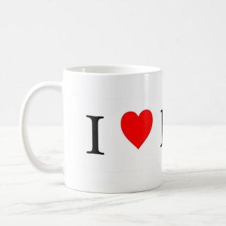 Amo el café de la tierra y la taza del té
