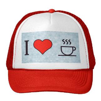 Amo el café de Staeaming Gorro