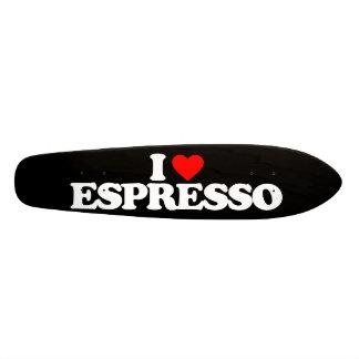 AMO EL CAFÉ EXPRESS TABLA DE SKATE
