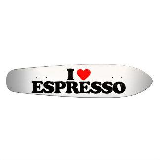AMO EL CAFÉ EXPRESS TABLAS DE PATINAR