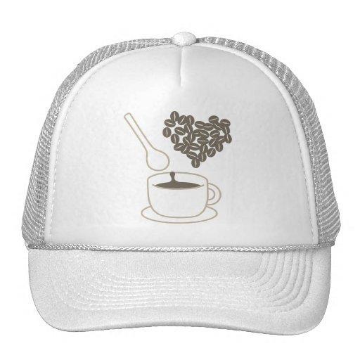 Amo el café gorra