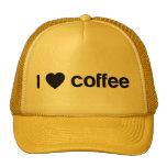 Amo el café gorros bordados