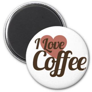 Amo el café iman para frigorífico