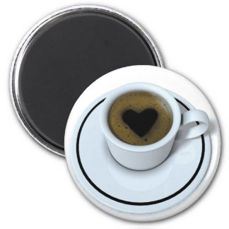 AMO el café Imán Redondo 5 Cm
