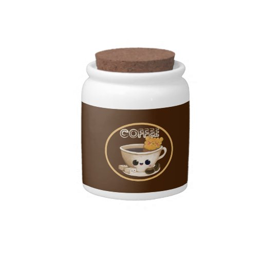 Amo el café jarra para caramelo