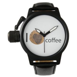 Amo el café relojes