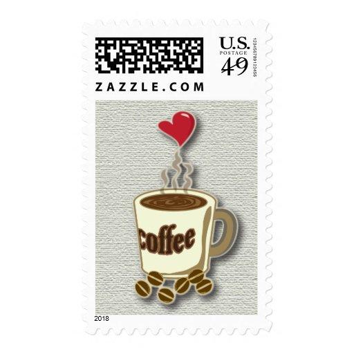 Amo el café sello