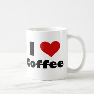 Amo el café tazas