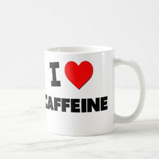 Amo el cafeína taza