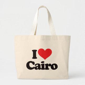 Amo El Cairo Bolsa Tela Grande