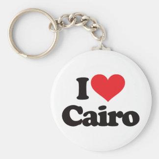 Amo El Cairo Llavero Redondo Tipo Pin