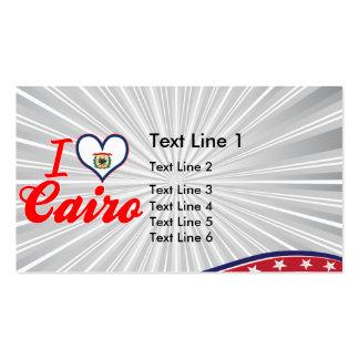 Amo El Cairo, Virginia Occidental Tarjeta De Visita