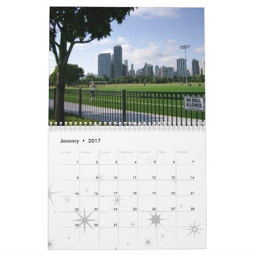 Amo el calendario de Chicago