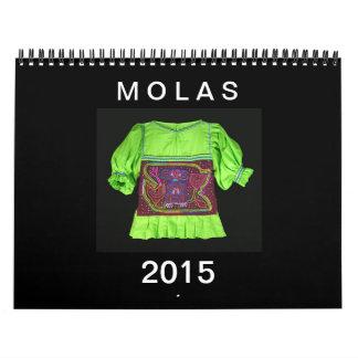 Amo el calendario de los Molas: 2015
